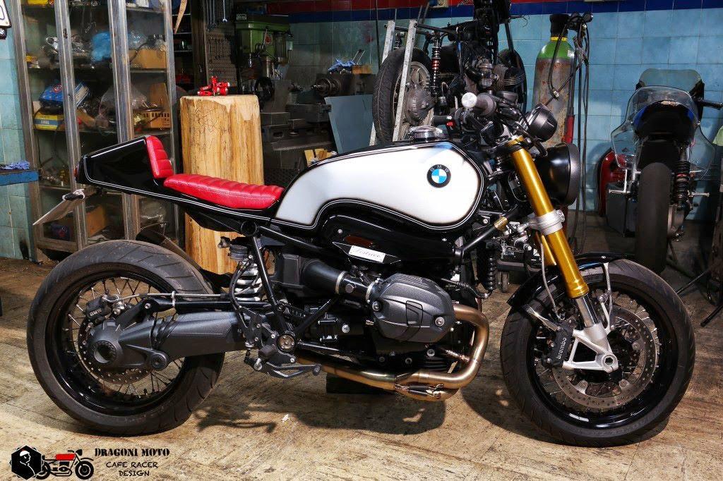 bmw nine t by dragoni moto rocketgarage cafe racer. Black Bedroom Furniture Sets. Home Design Ideas