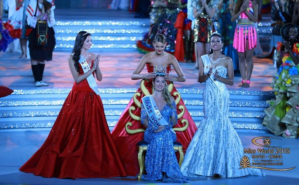 Miss World 2015 is Spain