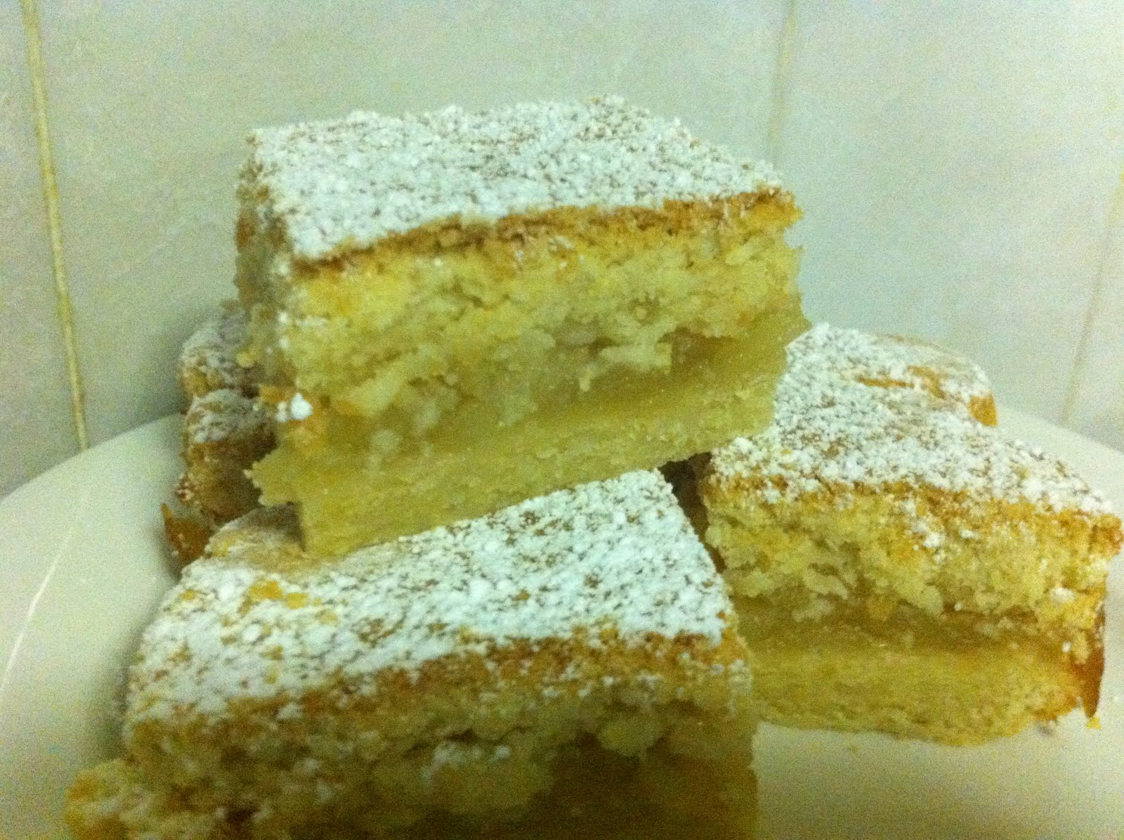 Sponge Cake Squares Recipe - Genius Kitchen