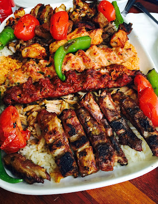 Turkish mixed grill