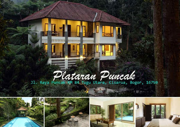 Villa Plataran Puncak