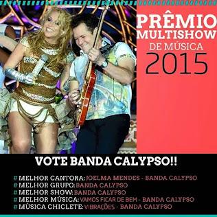 Prêmio MultiShow 2015.