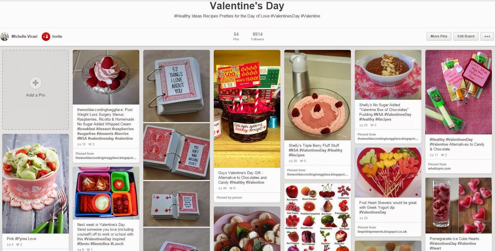 Eggface%2BValentine%2BPinterest%2BPage Weight Loss Recipes Eggface Valentines Day Pinterest Page