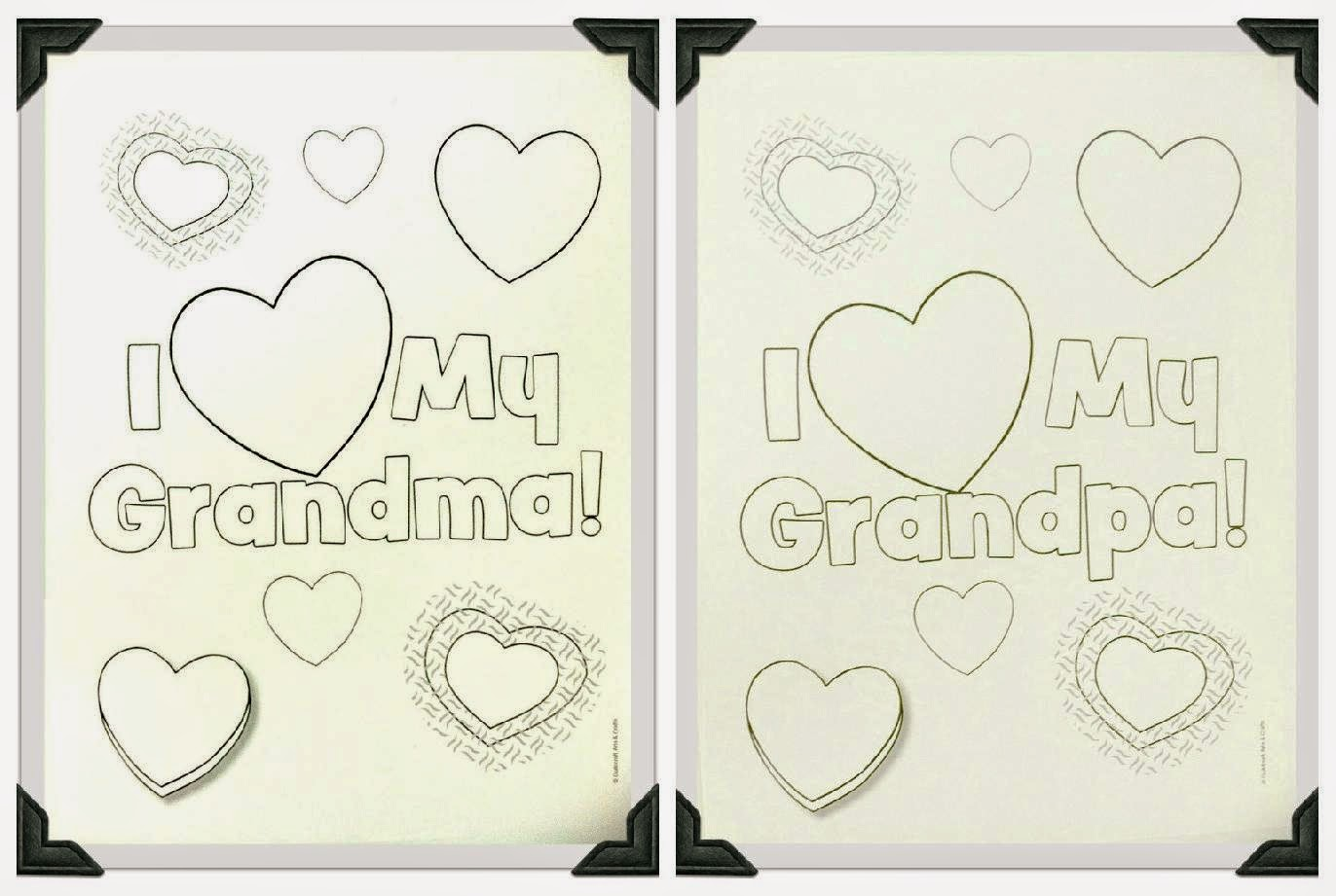 More keywords like Grandparents Day Coloring Activity other people ...
