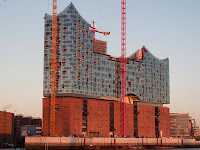 Elbe Philharmonic Hall in Hamburg - Germany