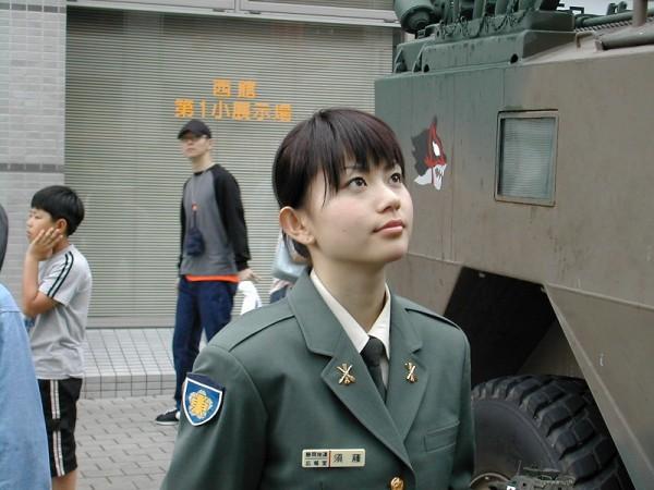 Inilah Tentara Wanita tercantik