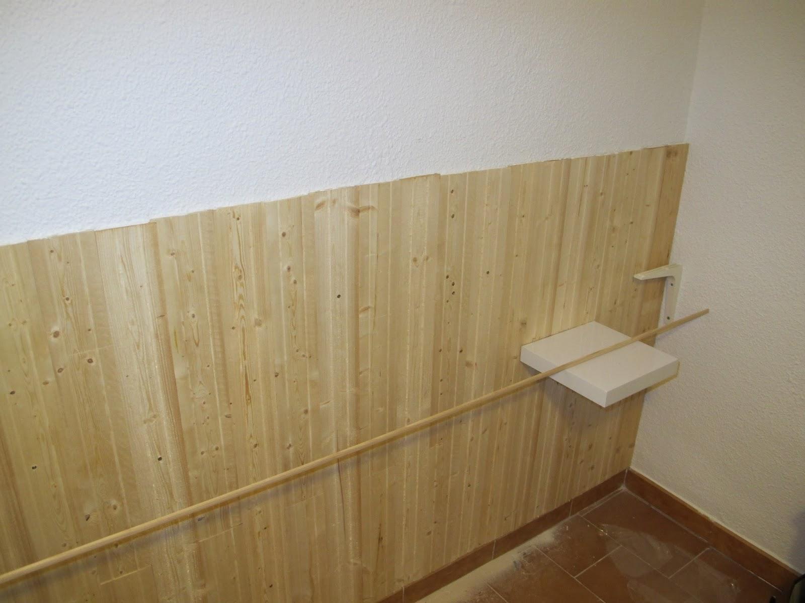 Bricomonxo cabecero de madera para dormitorio - Colocar friso en pared sin rastreles ...