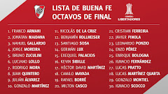 La nueva lista de Buena Fé para los octavos de la Copa Libertadores del 2018