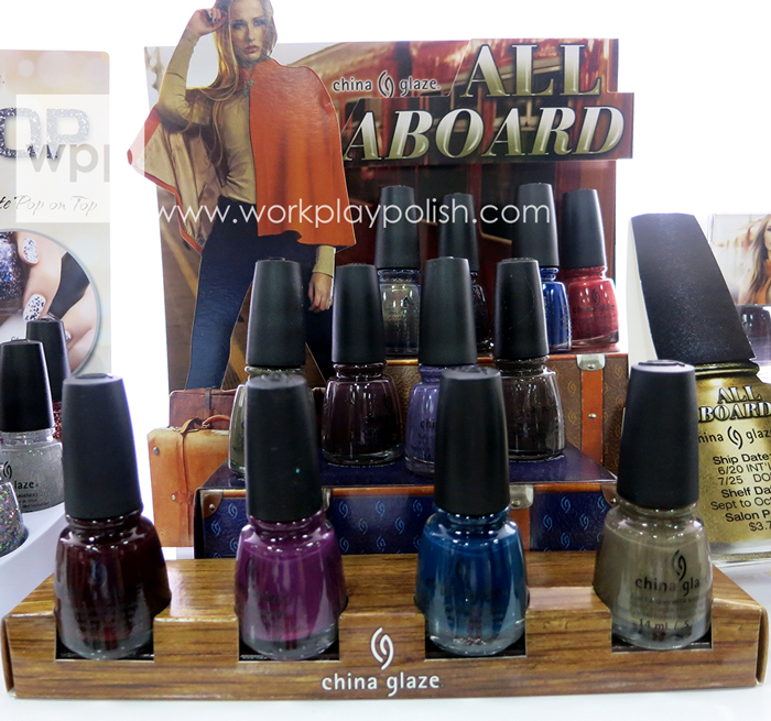China Glaze All Aboard Collection