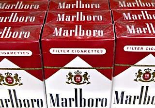 Dunhill cigarettes of Detroit