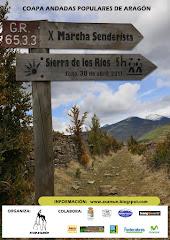 Marcha senderista Sierra de los ríos 2017