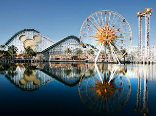 Foto da Disneylândia na Califórnia