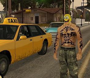 Skin Bob Esponja GTA