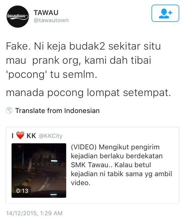 Video Pocong Melompat Akhirnya Didedah