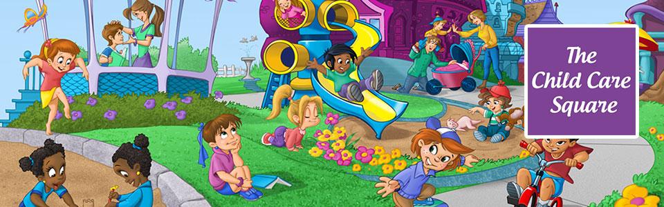 The Child Care Square