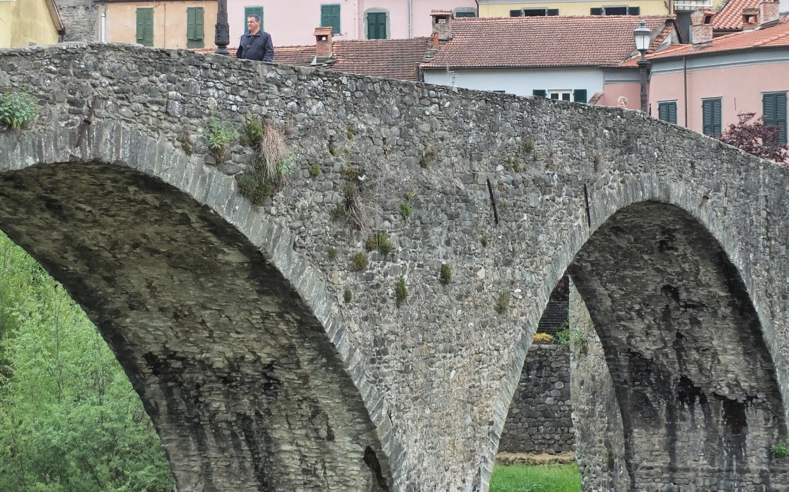 14th Century Ponte della Cresa, Pontremoli.