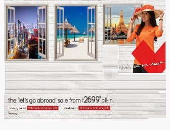 The 'let's Go Abroad' SALE from Rs.2999 at Spicejet: Buytoearn