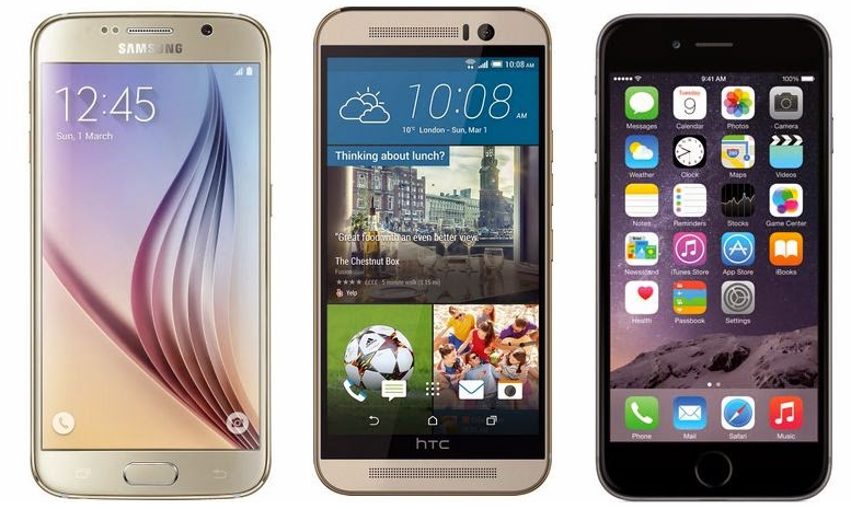 test the iPhone 6 Plus HTC One M9 and Galaxy S6 Edge