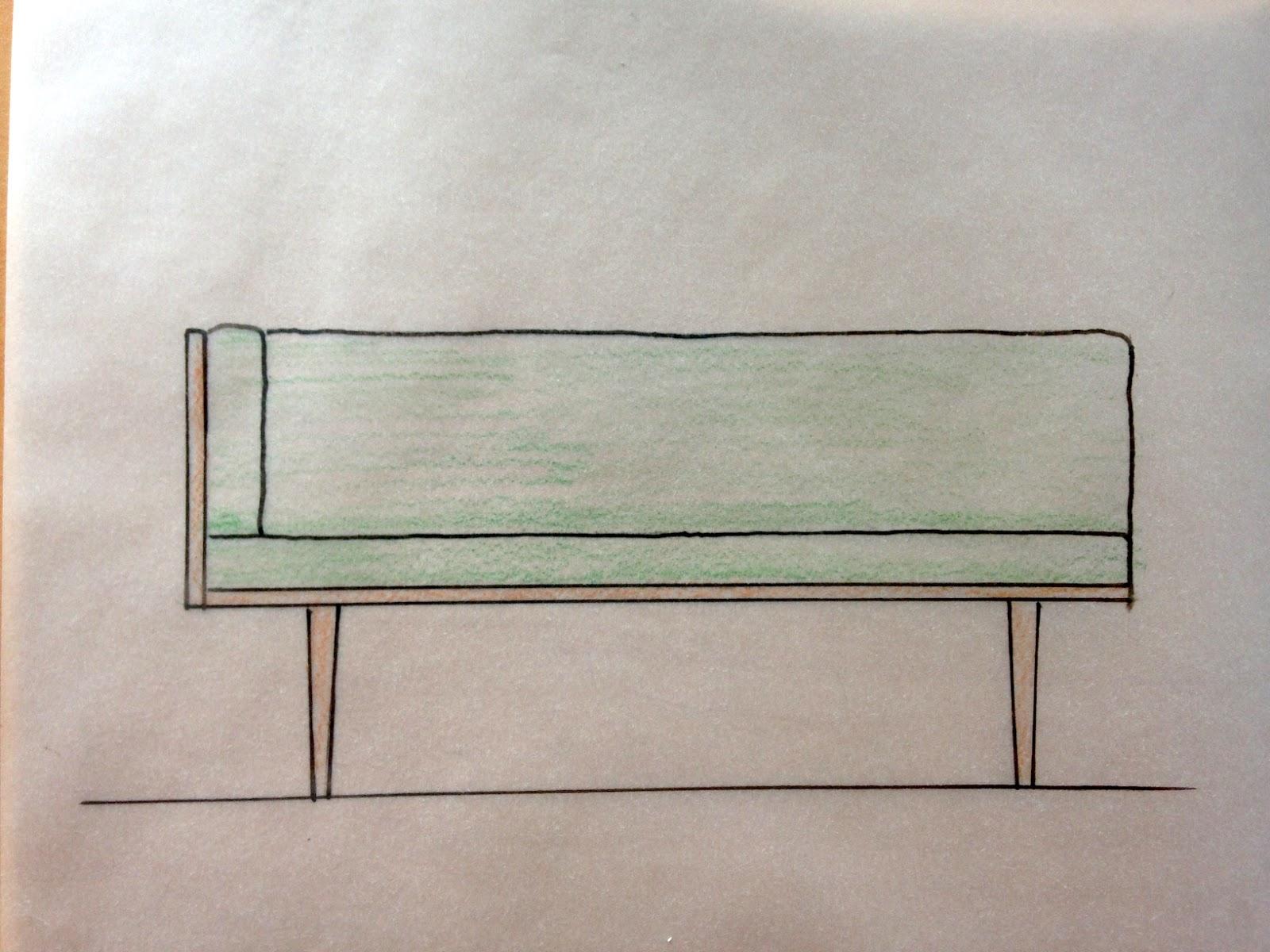 High Quality Sketch Of My Sofa