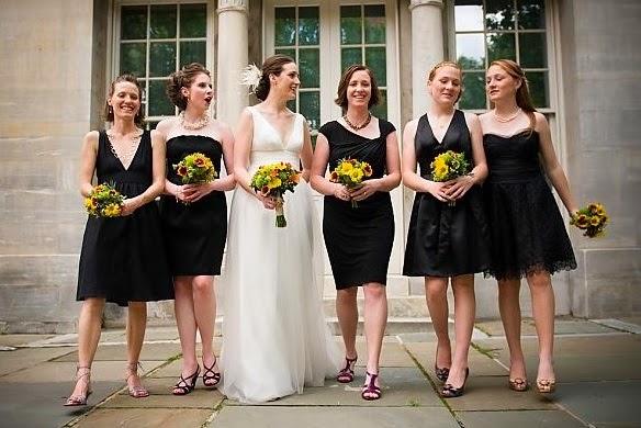 Madrinha pode usar vestido preto em casamento