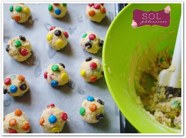 Cookies aux m&m's