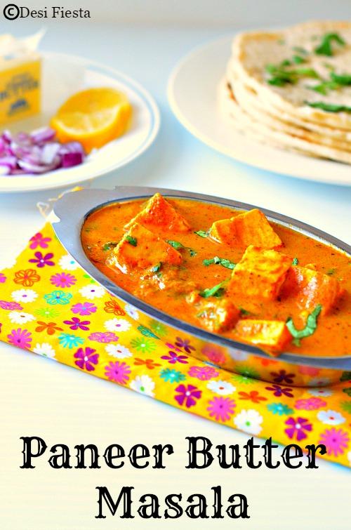 Dhaba style paneer butter masala