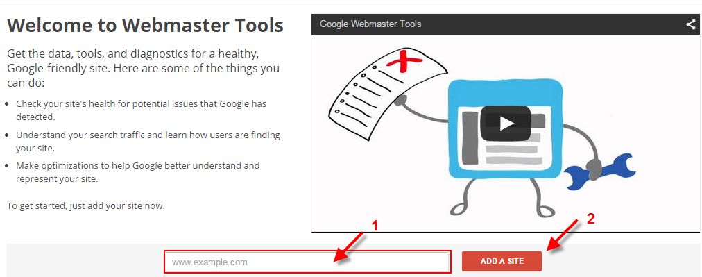 Cara submit blog ke google webmaster tool