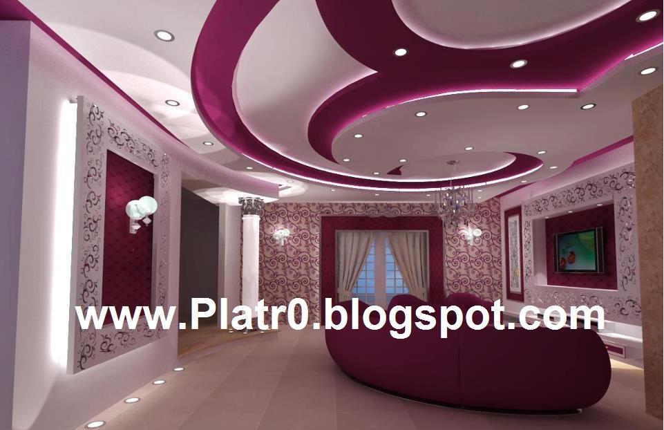 decoration platre chambre faux plafond platre chambre coucher les - Dicor De Chambre A Coucher 2013