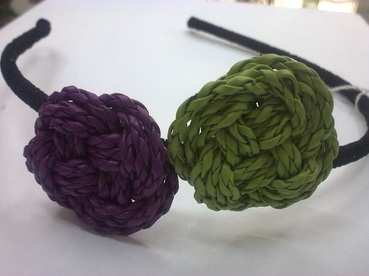en morado y pistacho