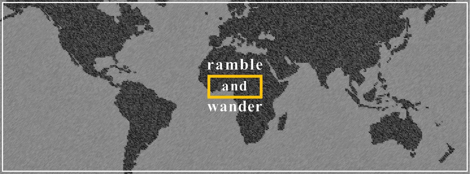 Ramble and Wander Anniversary Giveaway Contest