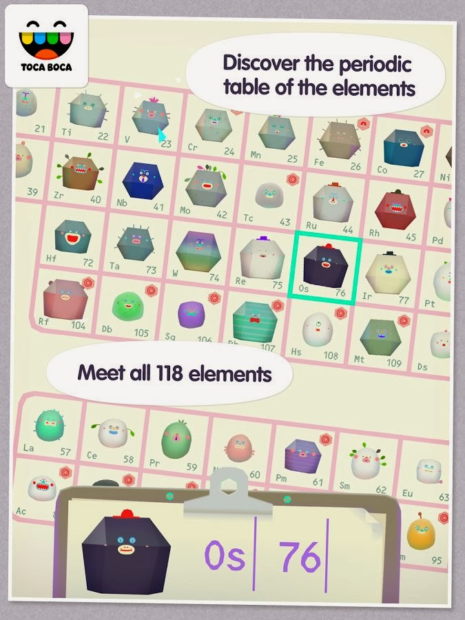 explore the colorful and electrifying world of science and meet all 118 of the elements from the periodic table