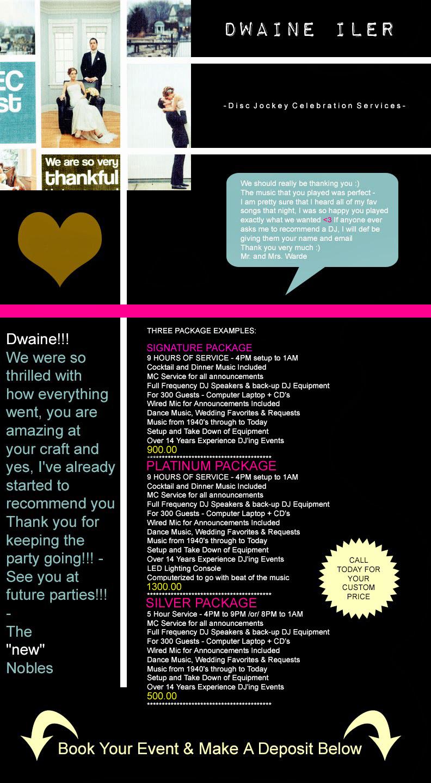 Dwaine Iler / DJ + Event Services