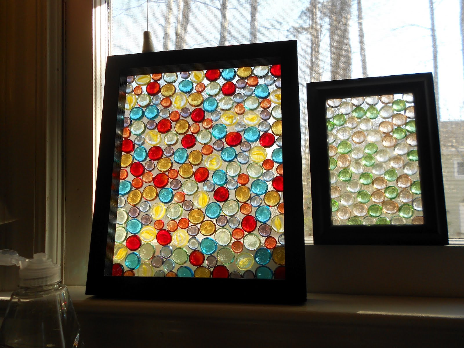 Lord Ozwald\'s Curious Goods: Homemade Stained Glass Frames