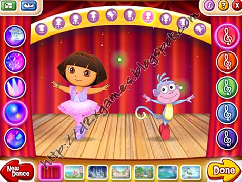 Free Download Games - Dora Ballet Adventure