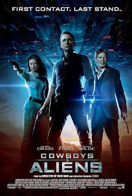 cowboys & aliens 2011 poster cover