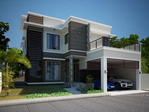 bentuk+rumah+minimalis+modern+2+lantai Bentuk Rumah Minimalis Terbaru