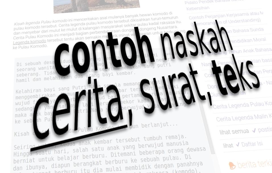 Arsip Konten Februari 2014 Contoh Teks