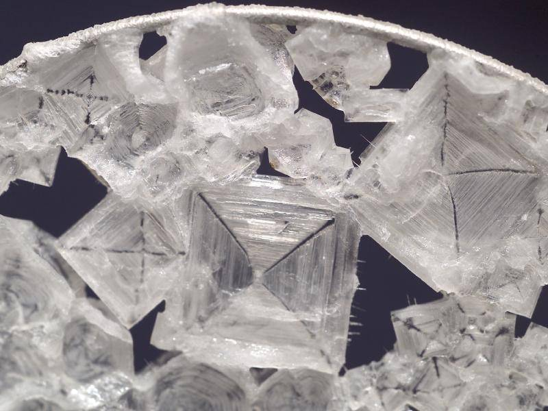 how to make large rochelle salt crystals