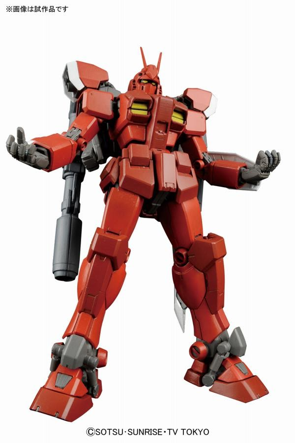 Master Grade Gundam Amazing Red Warrior official image 02