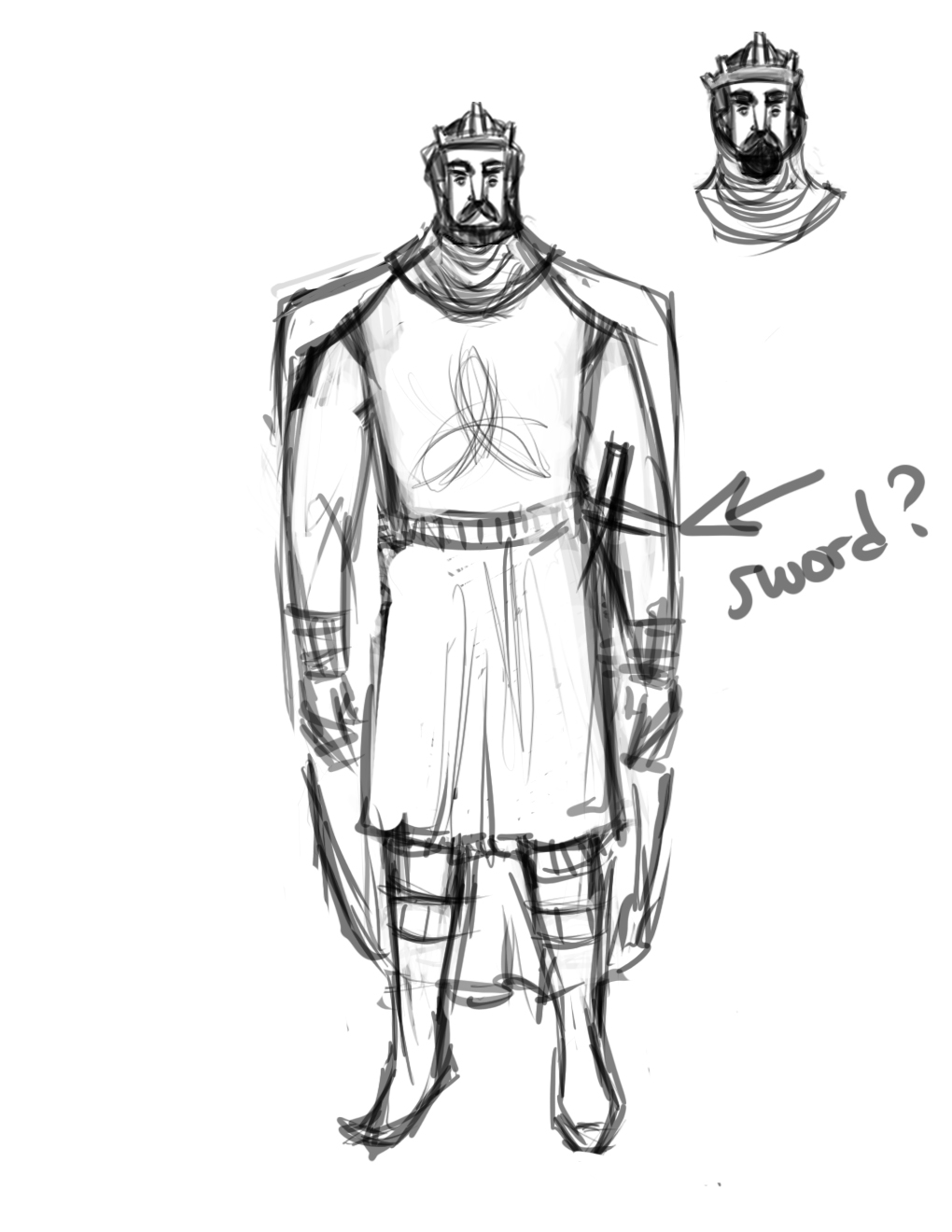king arthur character sketch King arthur back next character analysis for a character who only shows up at the beginning and ending of the story, king arthur sure gets a lot of time devoted.