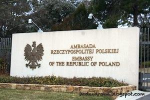 Ambasada Rzeczpospolitej Polskiej w Canberze. Embassy of The Republic of Poland in Canberra.