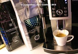 Testissä KahviKaverin kahvit - Testimisel KohviSemu kohvid