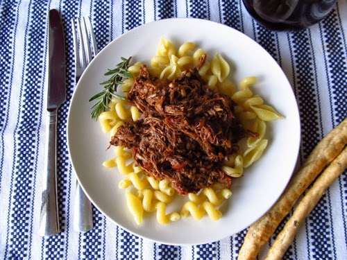 Tomato and Red Wine Braised Beef