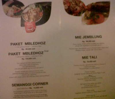 Menu makanan unik di Surabaya