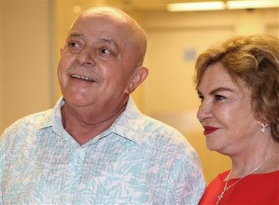 Brasil: LULA VOLTA À POLÍTICA SEM SABER RESULTADO DE TRATAMENTO