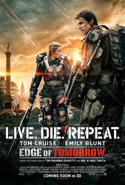 ตัวอย่างหนังใหม่ : Edge of Tomorrow (ซูเปอร์นักรบดับทัพอสูร) ตัวอย่างที่ 3 ซับไทย poster