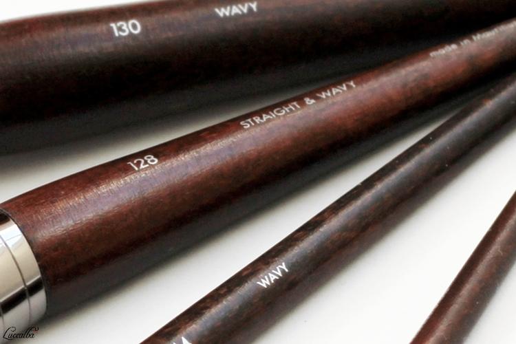 Numeración y tipo de fibras de MUFE