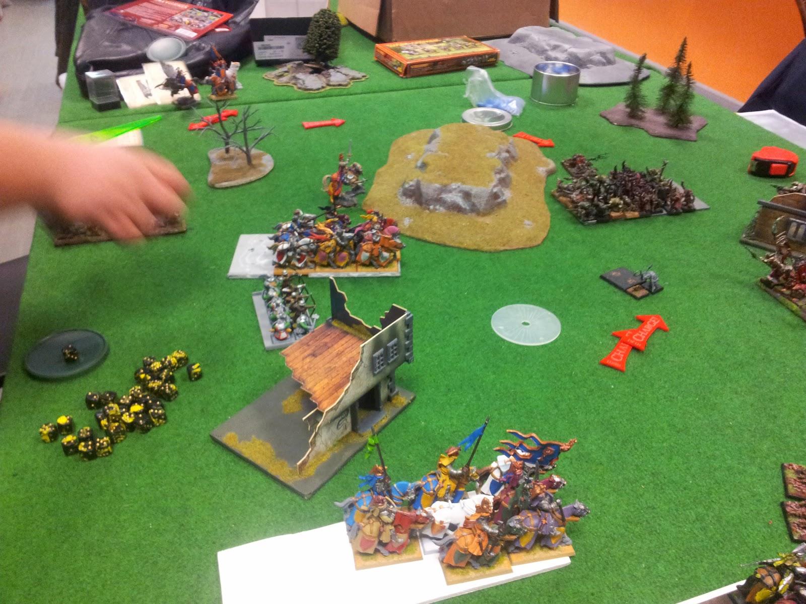 Informe de Batalla 2,5K Skavens Vs Bretonia 01/04/2014