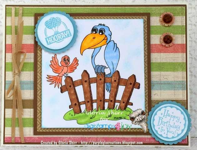 Featured Card at Eureka Stamps