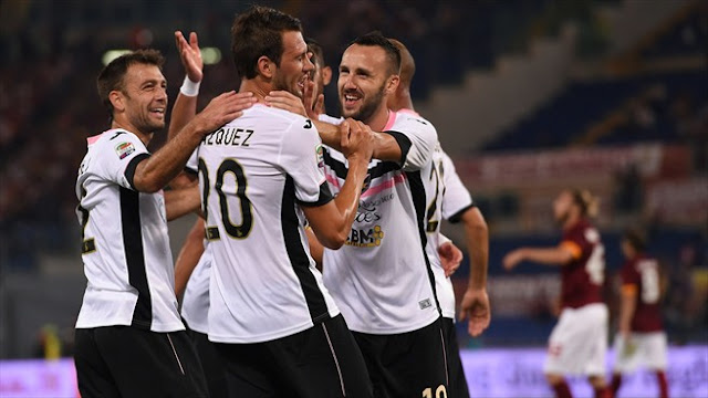 Highlights Roma 1 – 2 Palermo (Serie A)